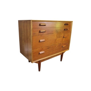 Borge Mogensen Teak & Oak 4 Drawer Chest