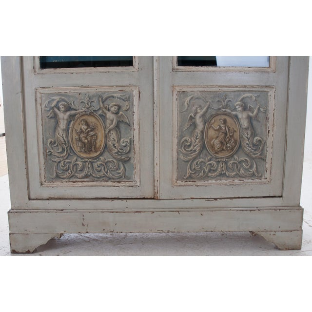 Italian Early 20th Century Painted Bibliotheque For Sale In Baton Rouge - Image 6 of 10