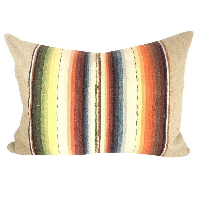 Sun Washed Sand Colored Vintage Pillow - Image 1 of 6