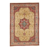 Image of Mid 20th Century Antique Persian Tabriz Rug-6′8″ × 9′8″ For Sale