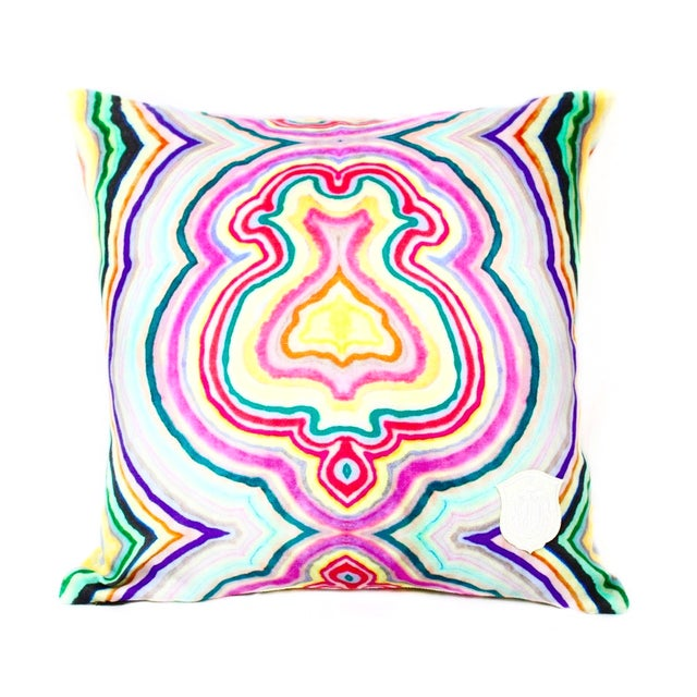 Funky Agate Pillow - Image 1 of 2