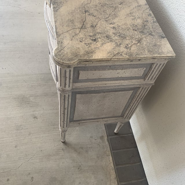 20th Century French Painted Commode For Sale In Houston - Image 6 of 13