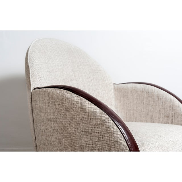 Pair of Swivel Chairs, France, 1950s For Sale - Image 6 of 10