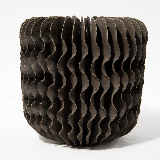 Contemporary Ceramic Sculptural Vase by Ursula Morley-Price, Circa 2000 For Sale - Image 3 of 8