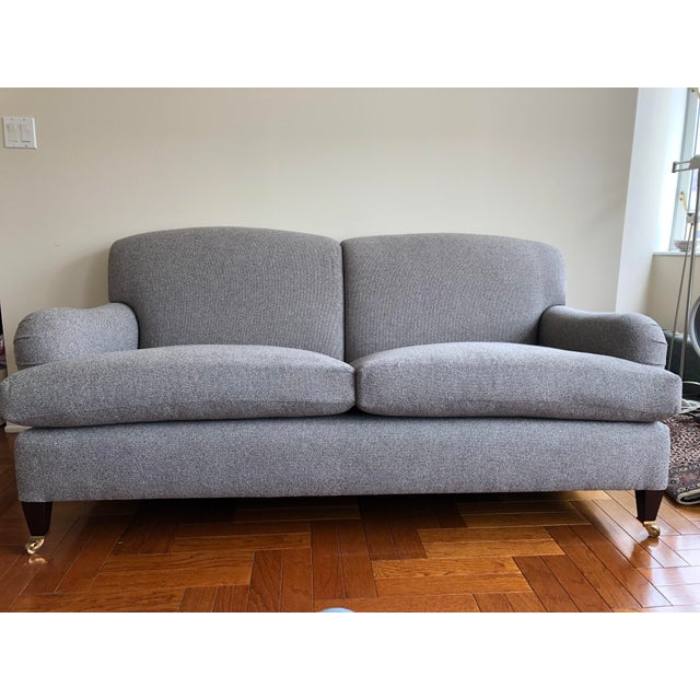 George Smith Standard Arm Signature Sofa For Sale In New York - Image 6 of 6