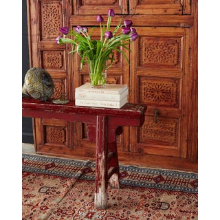 19th Century Chinese Provincial Lacquered Bench Preview