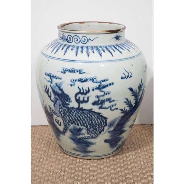 Blue and white is timeless and Classic. These Chinese export porcelain vases have a beautiful glaze. They look fabulous as...