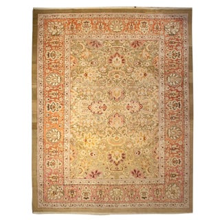 "Early 20th Century Agra Rug - 108"" x 138"" For Sale"
