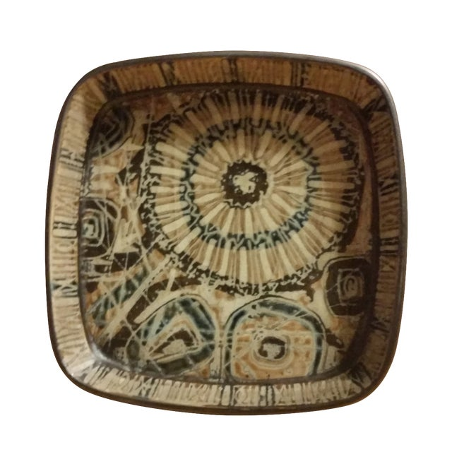 1970s Nils Thorsson Baca Series Faience Bowl - Image 1 of 6
