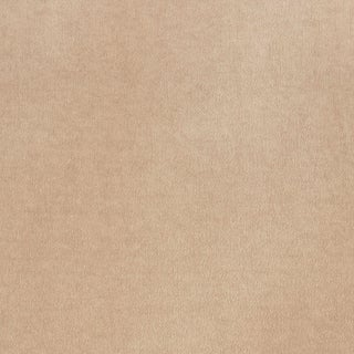 Schumacher Rocky Performance Velvet Fabric in Light Taupe For Sale