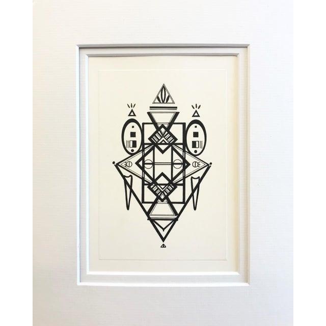 Natasha Mistry Original Ink Drawing For Sale - Image 12 of 12