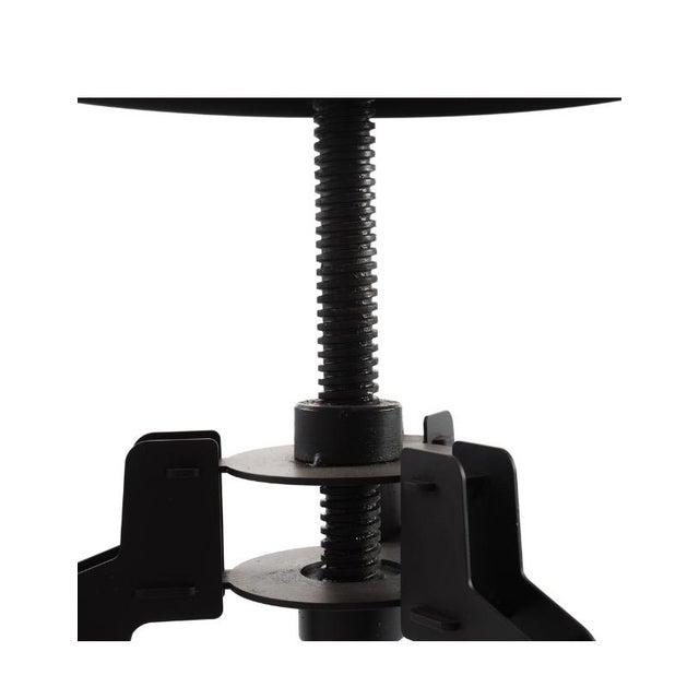 Industrial Adjustable Vintage Stool - Image 8 of 11