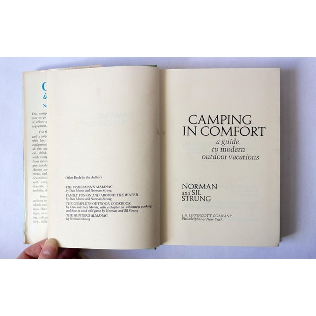 """1971 Vintage """"Camping in Comfort"""" Camping Book For Sale - Image 4 of 10"""
