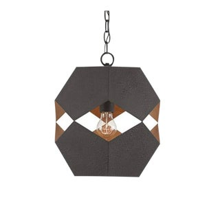 Currey & Company Enzo 1-Light Pendant For Sale