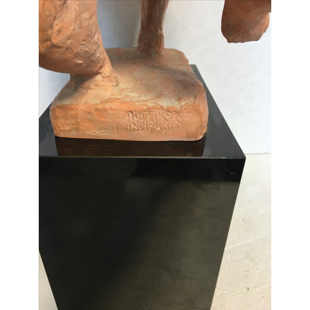 Austin Sculpture of Lady Riding a Horse, 1968 For Sale - Image 6 of 6