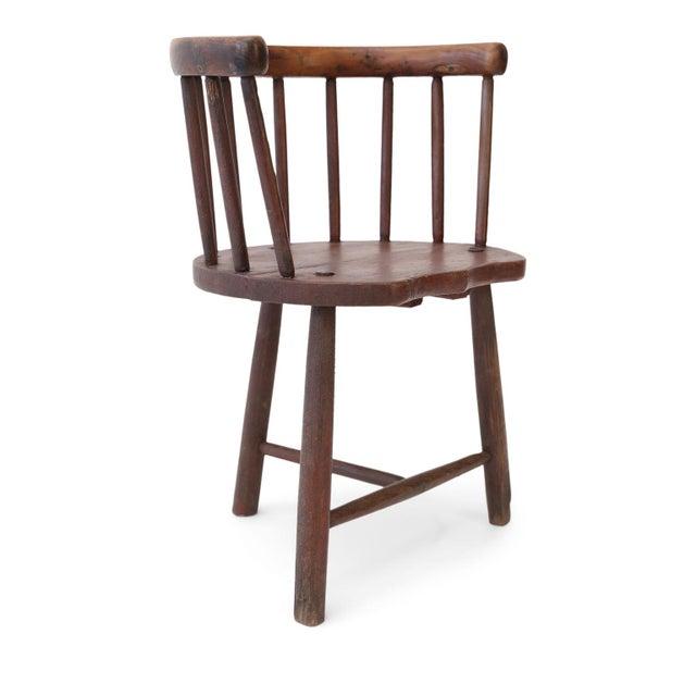 Scottish Horseshoe Back Chair For Sale - Image 12 of 12