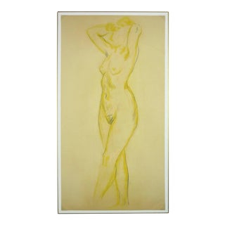 Nude in Yellow For Sale