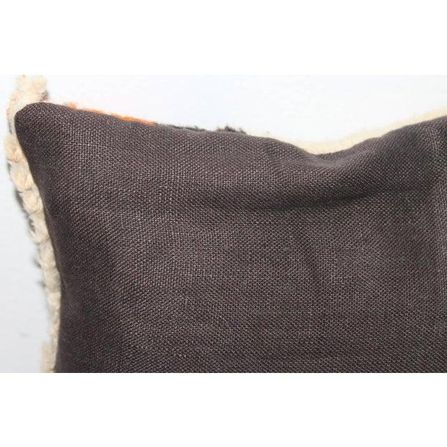 Small Navajo Weaving Eye Dazzler Pillow - Image 3 of 5