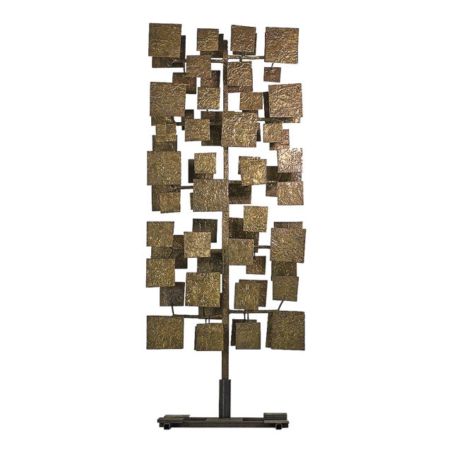Harry Bertoia Sculpture Screen Commissioned by Florence Knoll, Usa 1959 For Sale