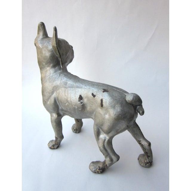 1930s Vintage Cast Iron Boston Terrier Doorstop / Figurine For Sale In Chicago - Image 6 of 8