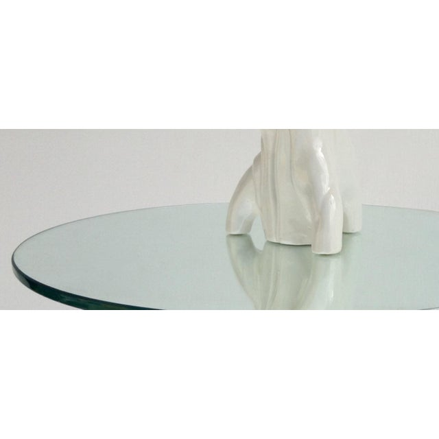 Mid-Century Porcelain Faux-Bois Floor Lamp - Image 8 of 11