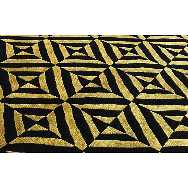 Contemporary Hand Woven Rug - 6' x 8'10 - Image 2 of 3