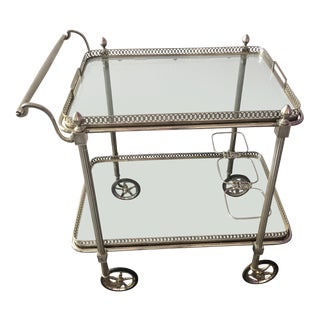 1960s Vintage Maison Jensen Bar Cart For Sale