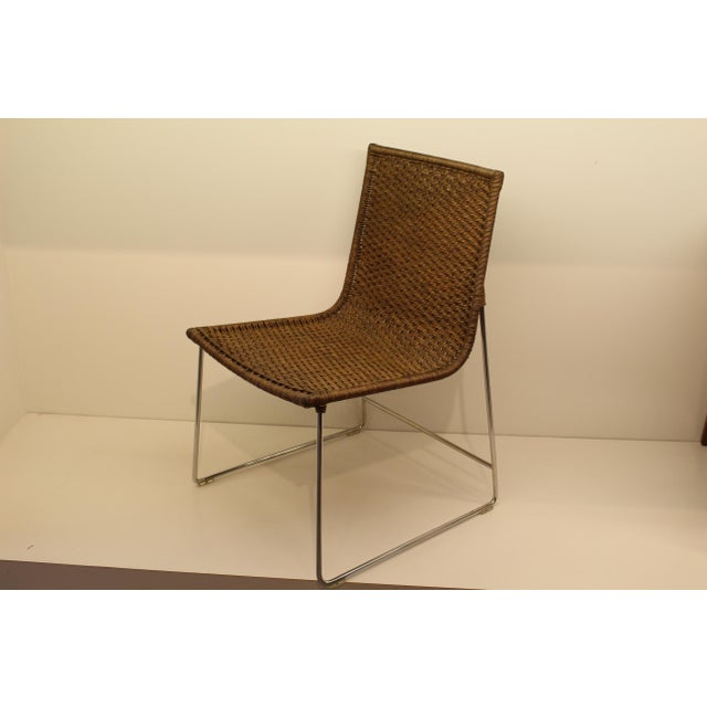 McGuire Sling Chair in Cocoa - Image 3 of 5