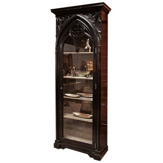 Italian 19th C. Gothic Cabinet For Sale