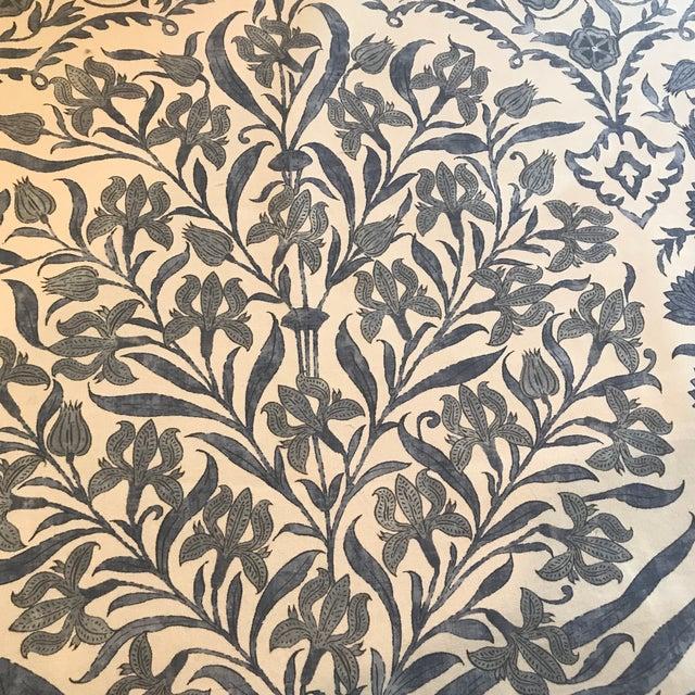 This is 8 yards of Lee Jofa Sameera fabric that is already backed. Collection: OSCAR DE LA RENTA III Lee Jofa SAMEERA BLUE...