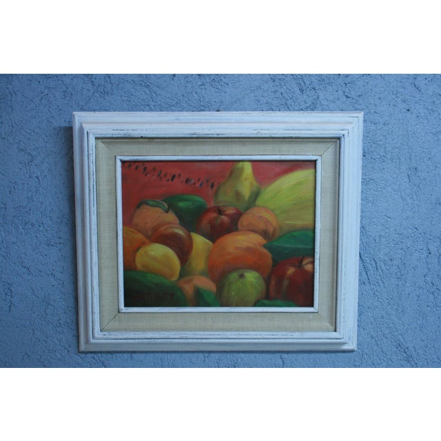 """Acrylic Fruit Painting - 20"""" x 17"""" - Image 2 of 7"""