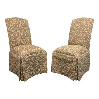 Lane Venture Parsons Dining Side Chairs - Pair 1 For Sale