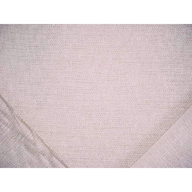 2010s Osborne Little Vence Ivory Textured Chenille Upholstery Fabric- 3-1/2 Yards For Sale - Image 5 of 6