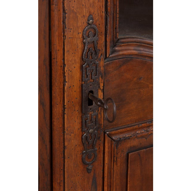 French Walnut Armoire Transition Period, 1800s - Image 7 of 10