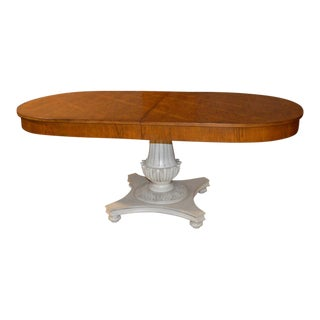 Vintage French Country Pedestal Dining Table