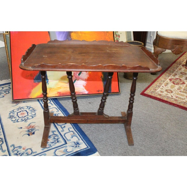 19th Century Art Nouveau Folding Tray Table For Sale In New York - Image 6 of 6
