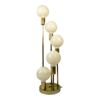 1970s Mid Century Modern Multi Globe Table Lamp
