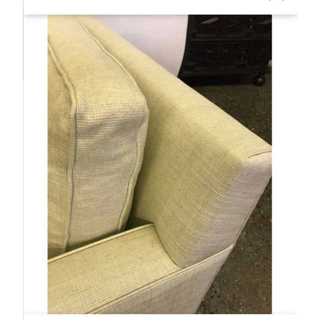 Textile Hickory Chair Furniture Co. Mid-Century Modern Upholstered Lounge Chair For Sale - Image 7 of 12