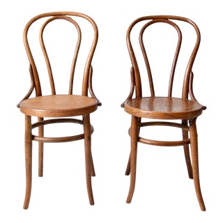 Antique Bentwood Chairs - a Pair For Sale
