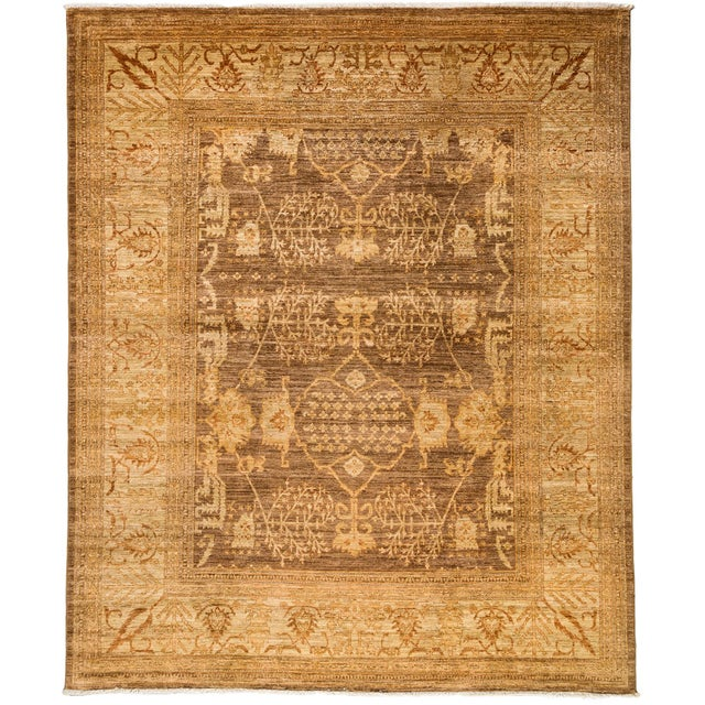 Contemporary Traditional Hand-Knotted Rug - 8' x 10' - Image 1 of 3