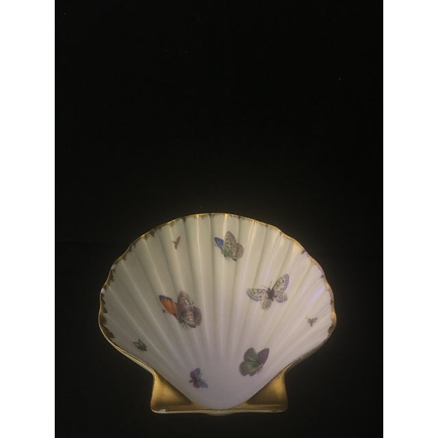 Limoges 24k Gold Butterfly Dish - Image 2 of 6