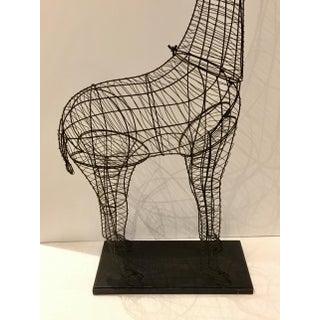 Large Modern Giraffe Wire Sculptural Floor Lamp Preview