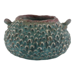 Feathered Bust Decorative Bowl For Sale