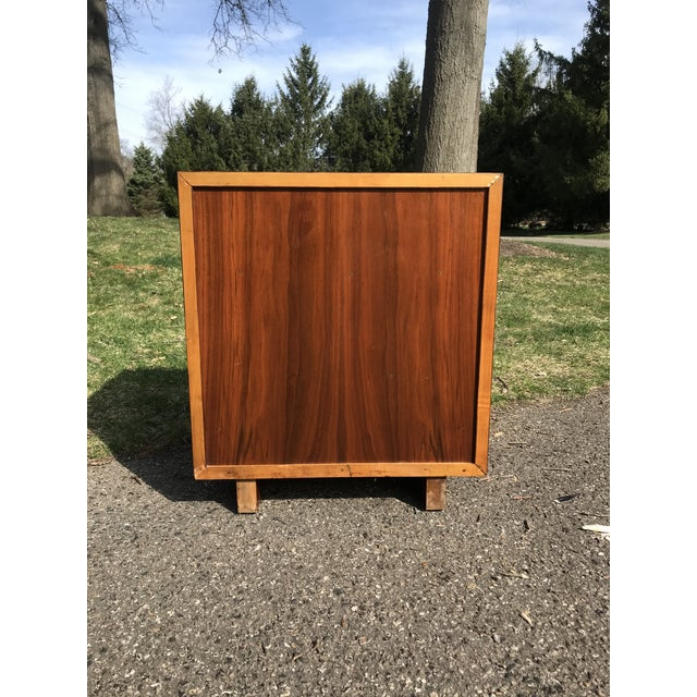 Mid Century Walnut Side Table by Widdicomb For Sale - Image 6 of 7