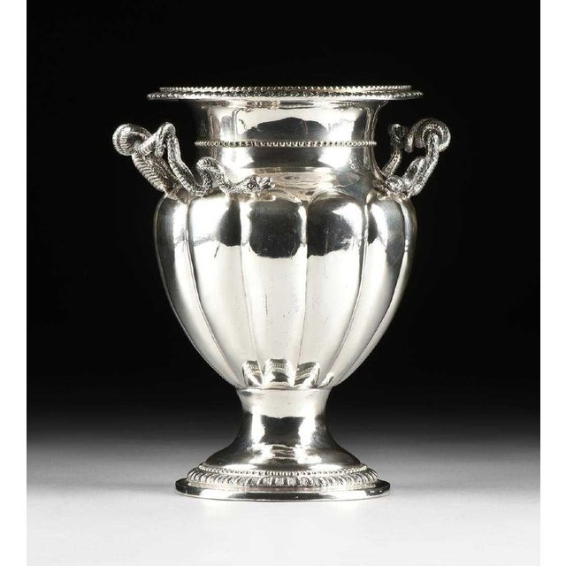 Georgian 19th Century George IV Sheffield Plate Champagne Bucket For Sale - Image 3 of 6