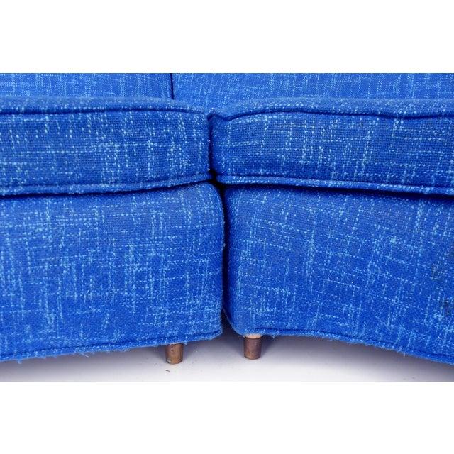 Mid-Century Modern Serpentine Sofa, circa 1950 - Image 6 of 11
