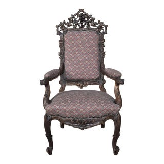 19th Century Black Forest Armchair For Sale