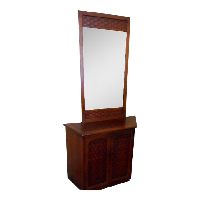 Lane Console Table With Mirror - Image 1 of 9