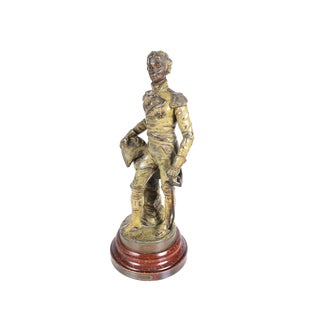 19th Century Duke of Wellington Metal Sculpture For Sale