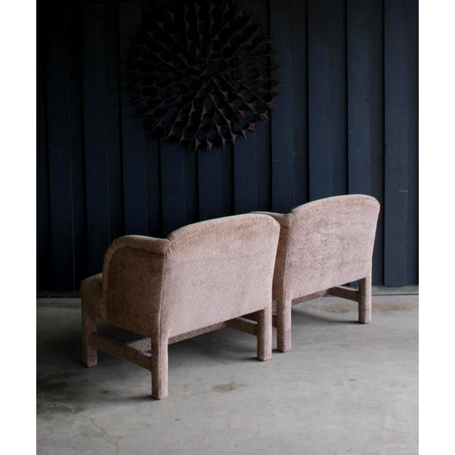 1980's Contemporary Chairs, a Pair For Sale - Image 9 of 13